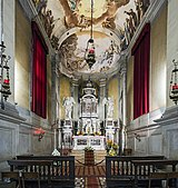 Santa Giustina (Padua) - Chapel of the holy sacrament.jpg