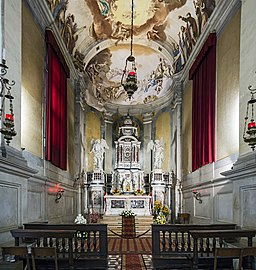 Santa Giustina (Padua) - Chapel of the holy sacrament