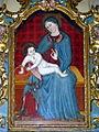 Santa Maria di Viatosto, interno, dipinto Madonna delle ciliegie (Asti).JPG