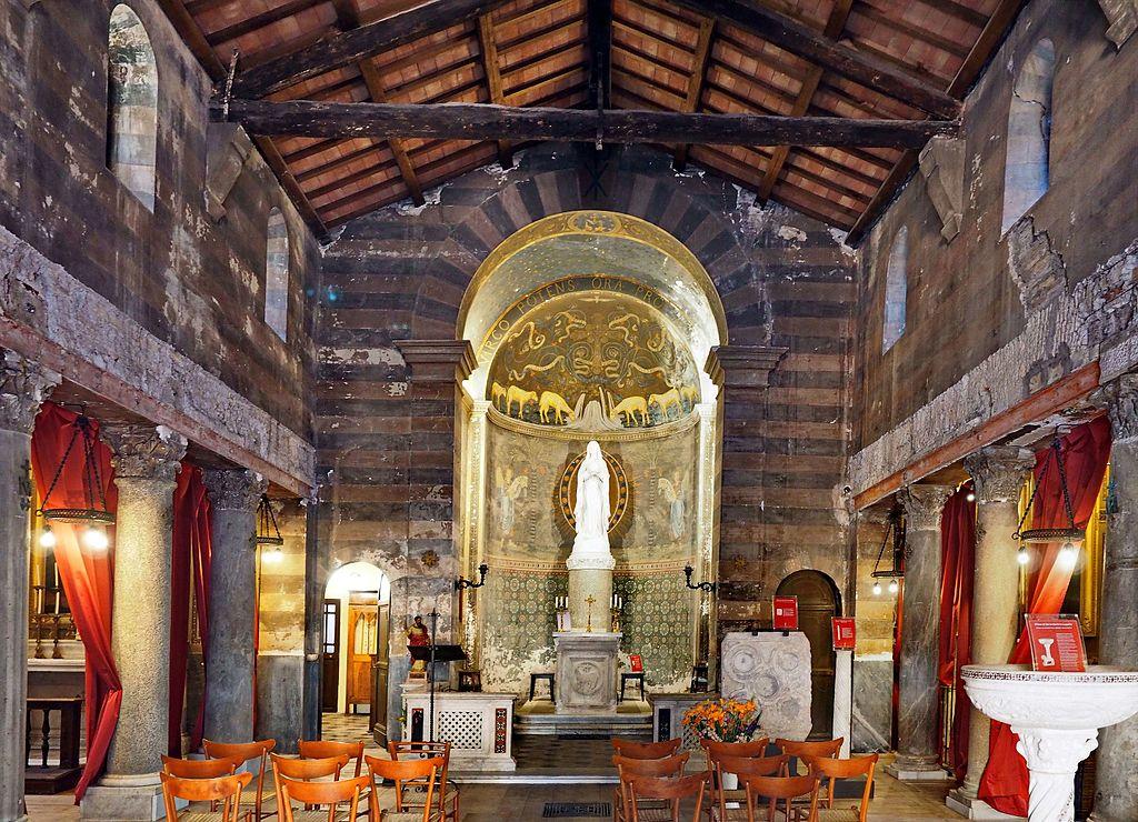 Eglise Santa Maria in Cappella dans le Trastevere à Rome - Photo de Peter1936F