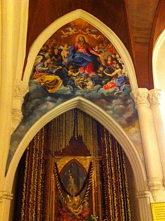 St. Thomas Cathedral Basilica, Chennai - Image: Santhome 2