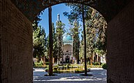 Santuario Shah Nematollah Vali, Mahan, Irán, 2016-09-22, DD 15.jpg