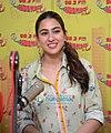 Sara Ali Khan and Sushant Singh Rajput promote 'Kedarnath' at 98.3 FM Radio Mirchi 2.jpg