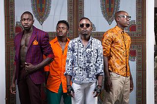 Sauti Sol Kenyan afro-pop band formed in Nairobi
