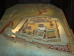 Scale model - A scale model of the Tower of London. This model can be found inside the tower.