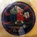 Scatola in cartapesta con caricatura di cantante, xviii secolo.jpg