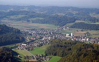 Schöftland Municipality in Switzerland in Aargau