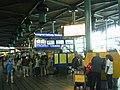 Schiphol railway station entrance via Plaza.JPG