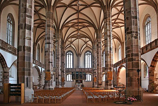 Schneeberg St. Wolfgangskirche Innenraum ; inside 2 (aka)