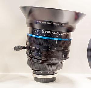 Schneider Kreuznach - Schneider-Kreuznach TS 50mm lens