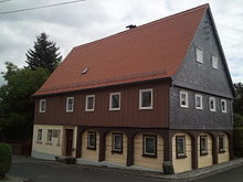 Geburtshaus Friedrich Schneiders in Waltersdorf (Großschönau) (Quelle: Wikimedia)