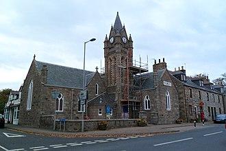 Newburgh, Aberdeenshire - Holy Rood Chapel in Newburgh