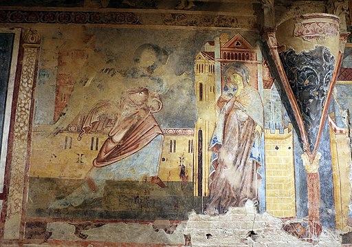 Scuola senese, Annunciazione, 1280 circa