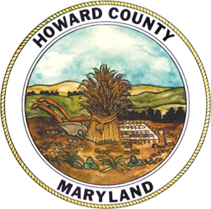 Howard County Police Department - Image: Seal of Howard County, Maryland