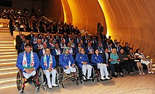 Seeing-off ceremony for Azerbaijani sportsmen to represent the country at the London 2012 Summer Olympic Games 11.jpg