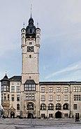 Seitenansicht Dessauer Rathaus