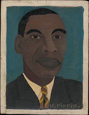 Horace Pippin - Self-Portrait II, 1944, at The Metropolitan Museum of Art