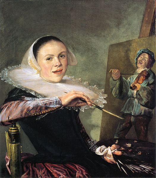 Fichier:Self-portrait by Judith Leyster.jpg