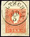 Seltschan 1859 5kr Sedlcany.jpg