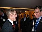 Senator Bill Nelson with Governor Mark Warner (127966587).jpg