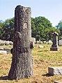 Senn Monument, Rosedale Cemetery, 2015-09-16.jpg