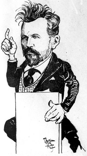 Sergei Bulgakov - 1907 caricature portraying Bulgakov as a member of the State Duma