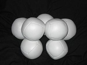 Juggling ball - A set of juggling beanbags