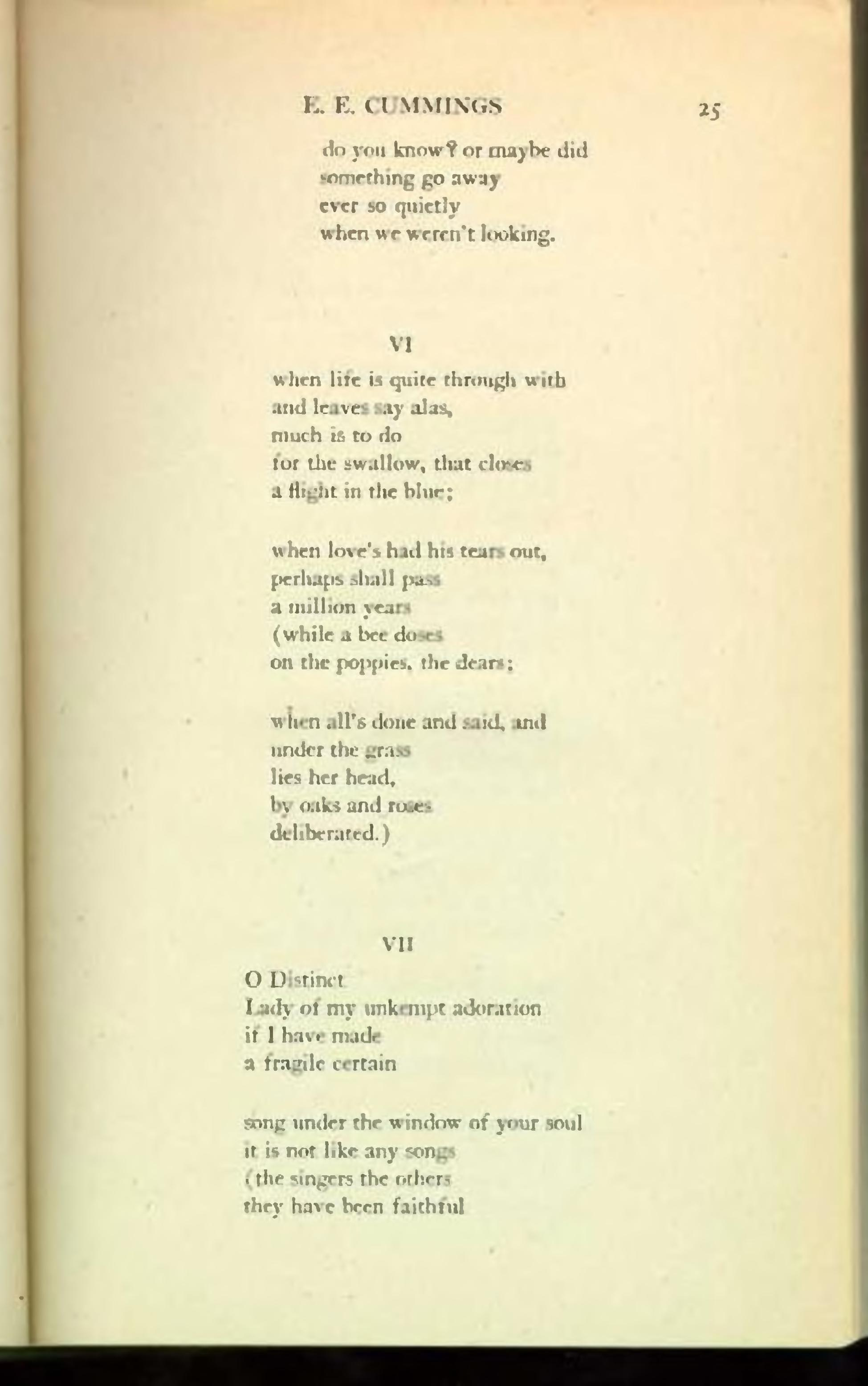 ee cummings poetry Poem hunter all poems of by edward estlin cummings poems 45 poems of edward estlin cummings phenomenal woman, still i rise, the road not taken, if you forget me, dreams.