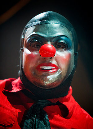 Percussionist Shawn Crahan of Slipknot perform...