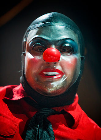 Slipknot (band) - Shawn Crahan wearing a variation of his clown mask in 2009