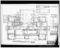 Sheet 2- PLAN OF FOUNDATION - Penn High School, Penn Avenue at Main Street, Greenville, Mercer County, PA HABS PA,43-GRENV,3-14.tif