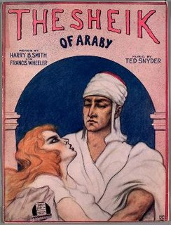The Sheik of Araby 1921 song with with music by Ted Snyder and lyrics by Harry B. Smith and Francis Wheeler