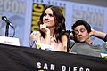 Shelley Hennig & Dylan O'Brien (36097484976).jpg