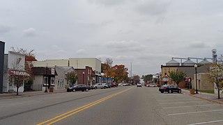 Shepherd, Michigan Village in Michigan, United States