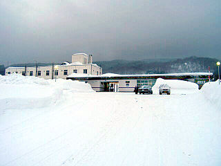 Shimukappu Station Railway station in Shimukappu, Hokkaido, Japan