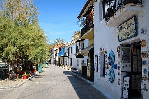 Shops of Afissos - panoramio