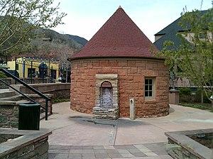 Manitou Springs Historic District - Image: Shoshone Spring 2