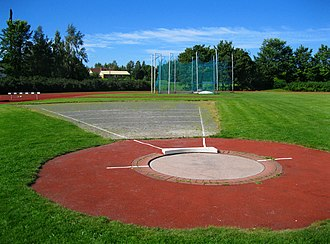 Shot put - Shot put area