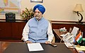 Shri Hardeep Singh Puri taking charge as the Minister of State for Housing & Urban Affairs (Independent Charge), in New Delhi on September 04, 2017.jpg