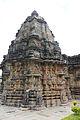 Shrine and tower (vimana) of Kalleshvara temple at Hire Hadagali.JPG