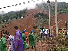 Shuicheng County Jichang Town Landslide, Guizhou, China, 24 July 2019.jpg