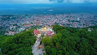 Taunggyi - A view of Taunggyi