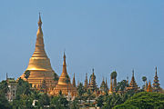 Myanmar's Shwedagon Pagoda is one of the most recognizable and revered pagodas in the Buddhist World