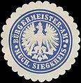 Siegelmarke Bürgermeister-Amt Much - Siegkreis W0382889.jpg
