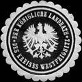 Siegelmarke Der Königliche Landrath des Kreises Westprignitz W0211552.jpg