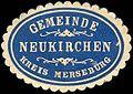 Siegelmarke Gemeinde Neukirchen - Kreis Merseburg W0223169.jpg
