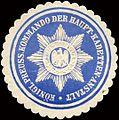 Siegelmarke Königlich Preussisches Kommando der Haupt - Kadetten - Anstalt W0213249.jpg