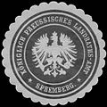 Siegelmarke K.Pr. Landraths-Amt Spremberg W0352167.jpg