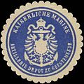 Siegelmarke K. Marine Artillerie Depot zu Geestemünde W0352033.jpg