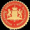 Siegelmarke Mecklenburg - Strelitzsche Hypothekenbank W0205388.jpg